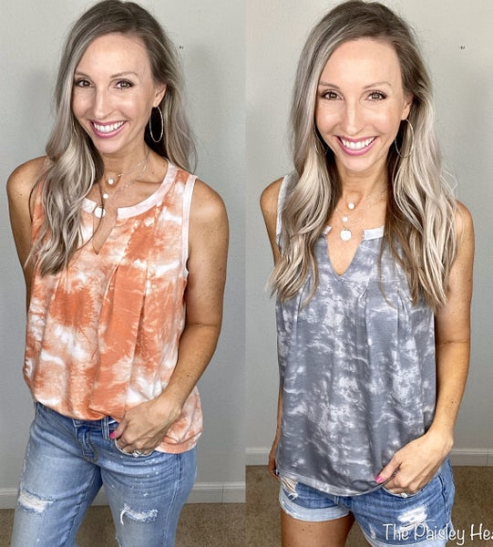 Nikki Subtle Tie Dye Tanks