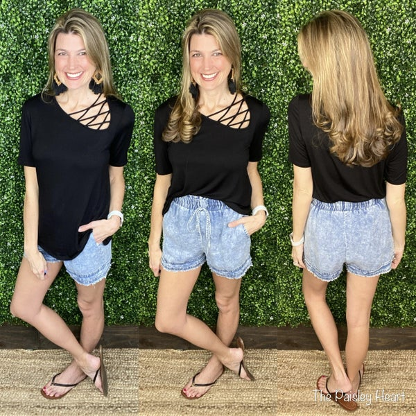 Remy Denim Shorts - AUTHORIZE for pre-order!