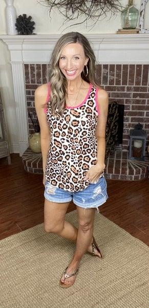 Belle Cheetah Top