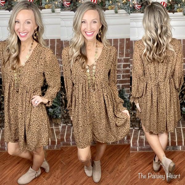 Leopard Nights Dress