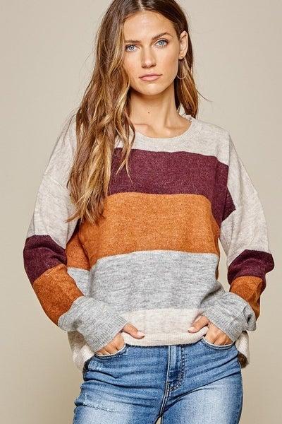 Serina Colorblock Sweater