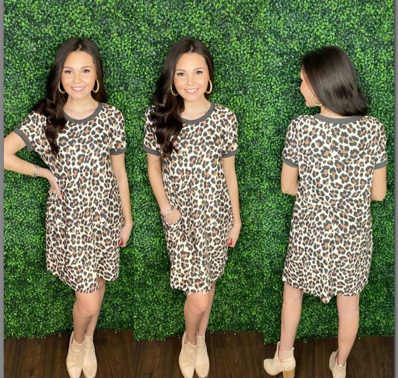 Mia Cheetah Dress