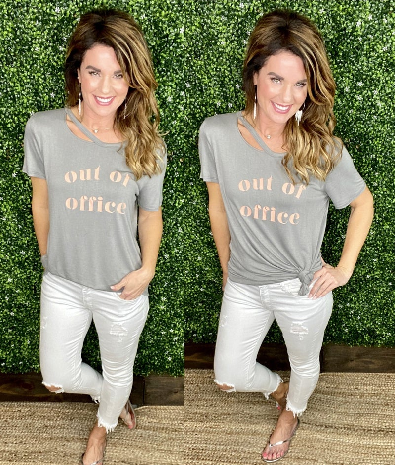 Out Of Office Comfy Tee