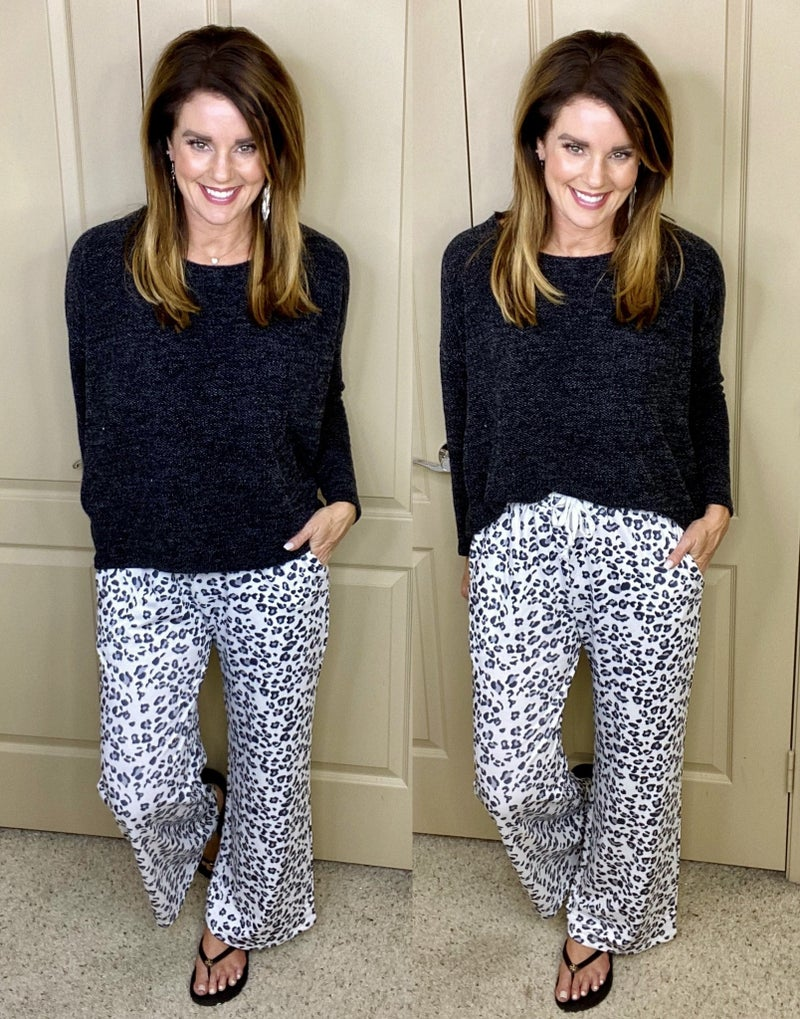 Let's Relax Loose Fit Pants