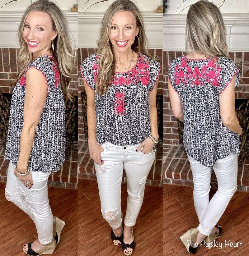 Bring The Blooms Top