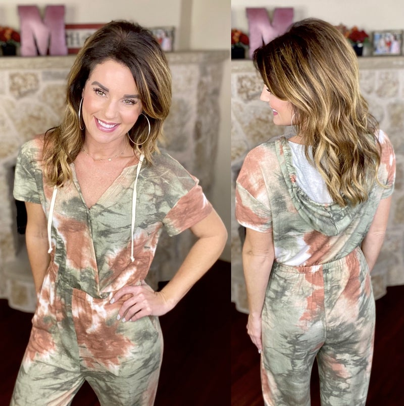 Jumping Into Fall Jumpsuit