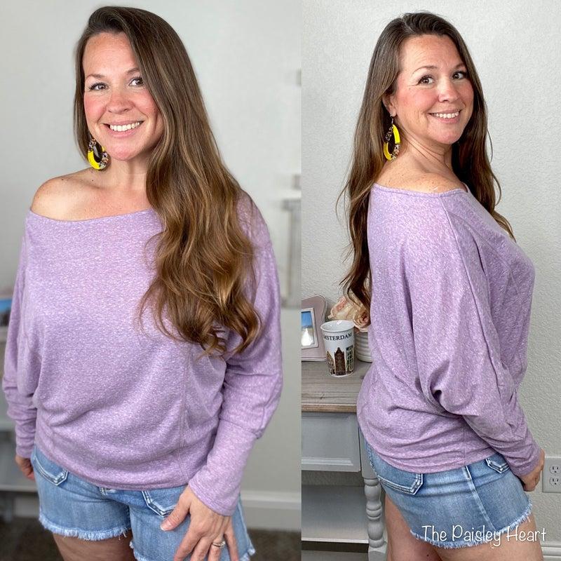 Violet Dolman Knit