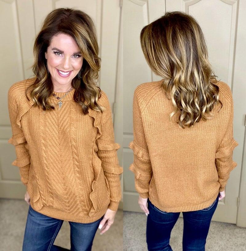 Warmer Side of Feminine Sweater
