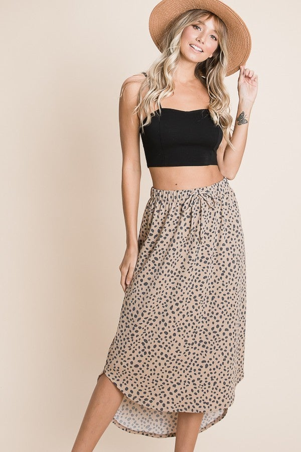 Wildly Essential Leopard Skirt