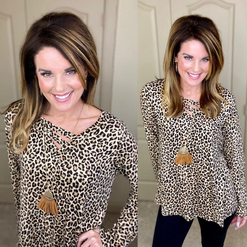 Francie Leopard Tunic