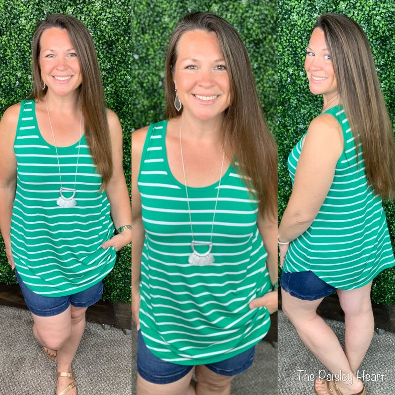 Zoe Striped Tanks