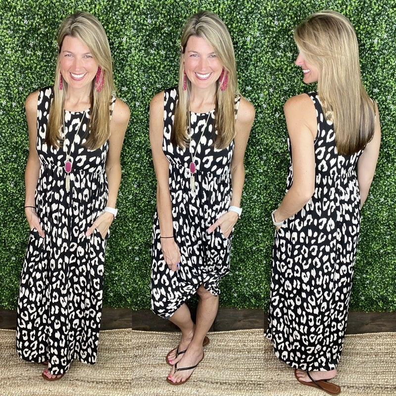 Friendly Advice Sleeveless Dress