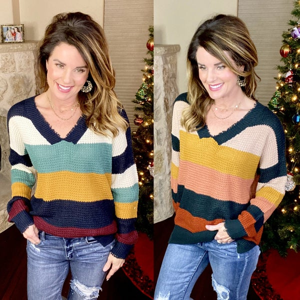 Striped Perfection Sweater