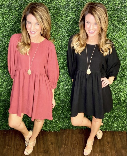 Countryside Charm Dress:  NEW COLORS!
