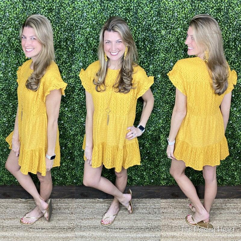 Everyday Sweetness Eyelet Dress