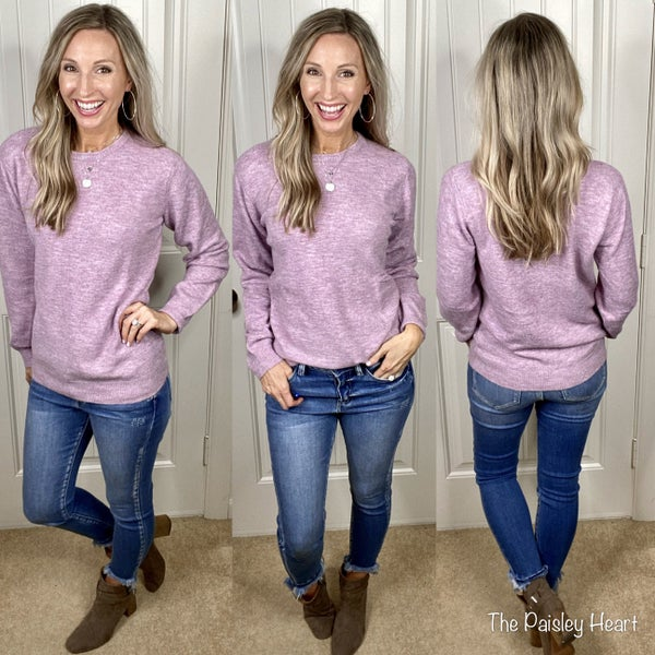 Lovely Lilac Super Soft Sweater