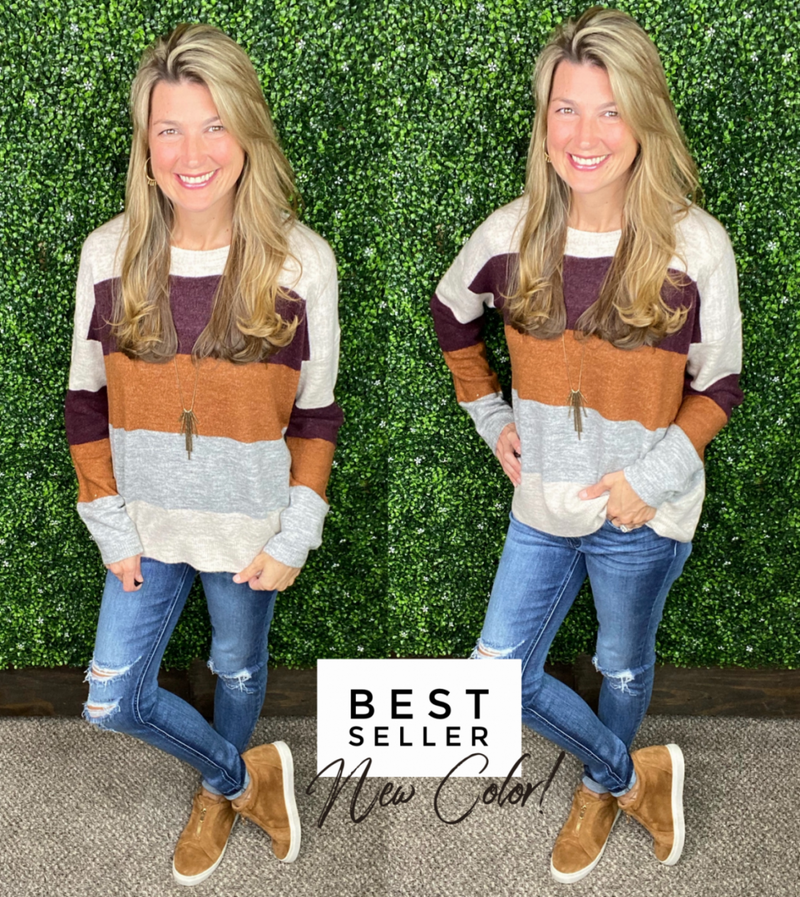 Brooklyn Sweater - NEW COLOR!