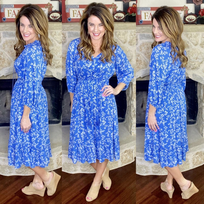 Hollywood Charms Floral Dress