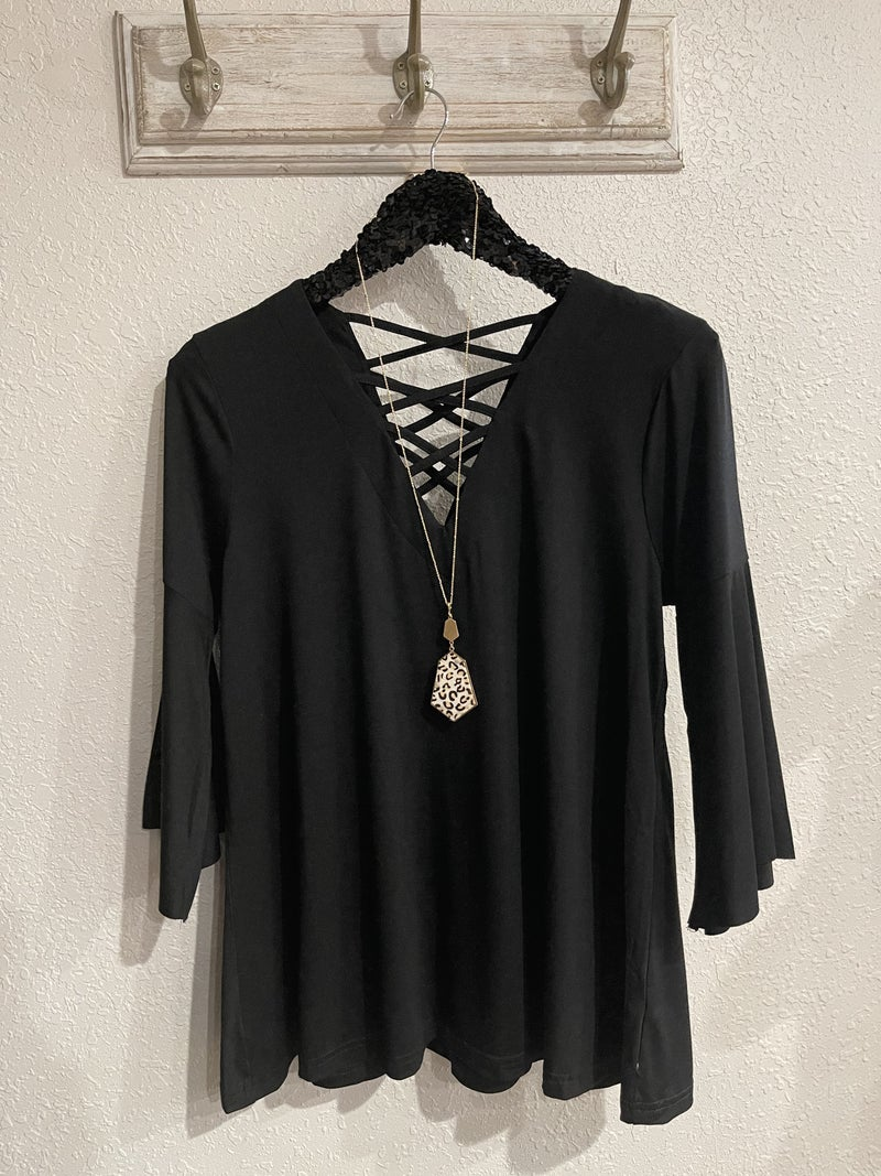 Webbed Perfection Top