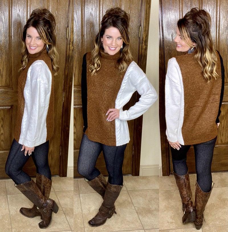 Coffee & Cream Sweater