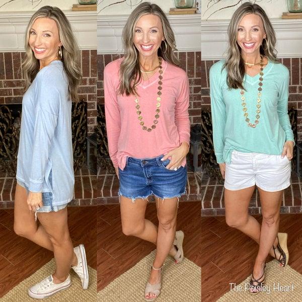 Bridget Transition Top: 3 Colors!