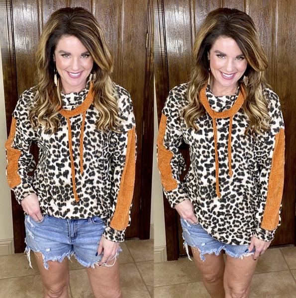 Leopard Luxury Pullover