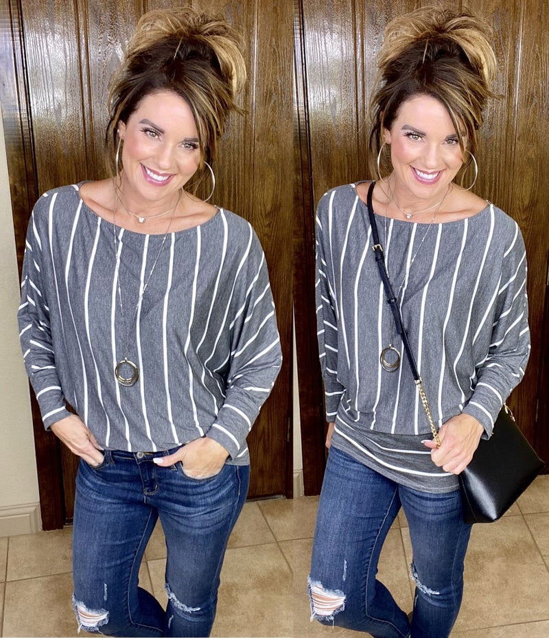 I'm Yours Striped Top