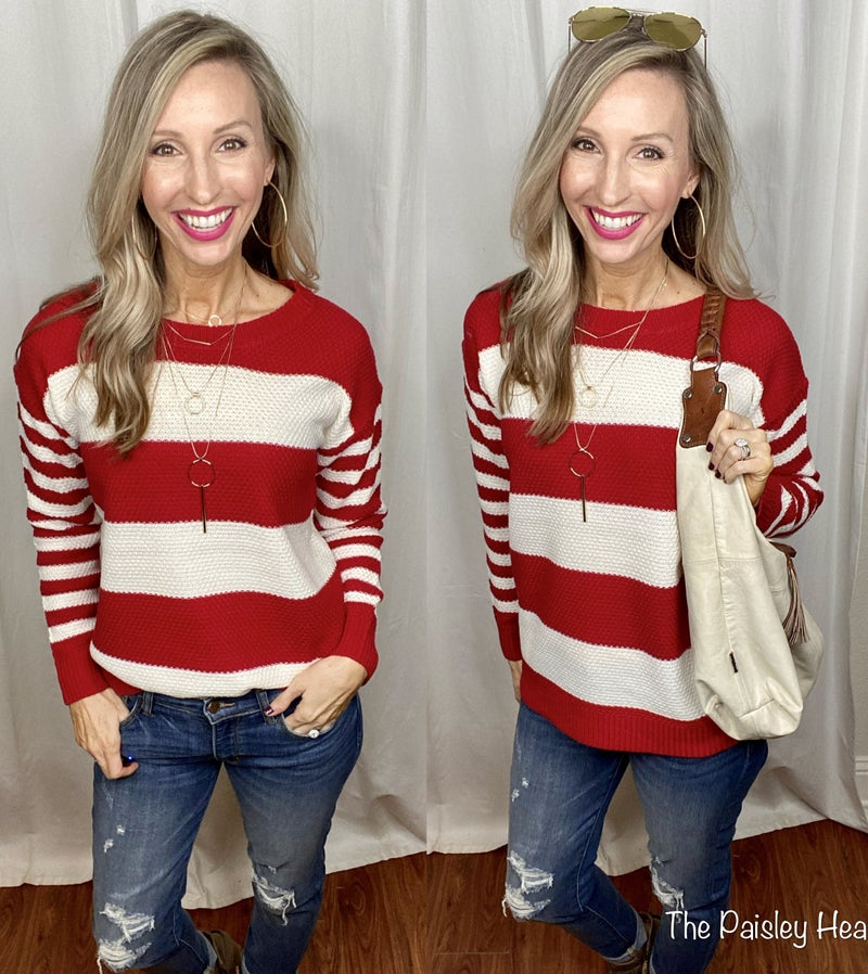 Loren Striped Sweater