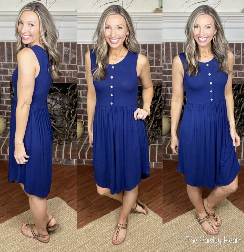 Weekend Wonderful Midi Dress