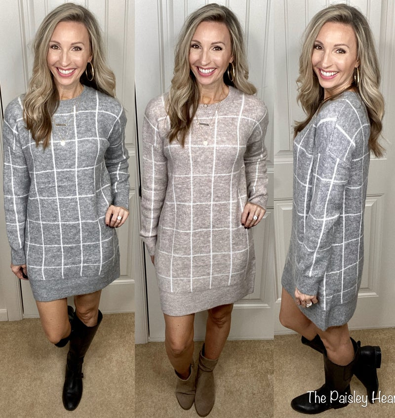Off The Grid Sweater Dress