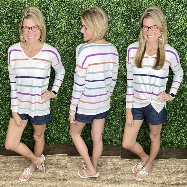 Summer Pop Sweater