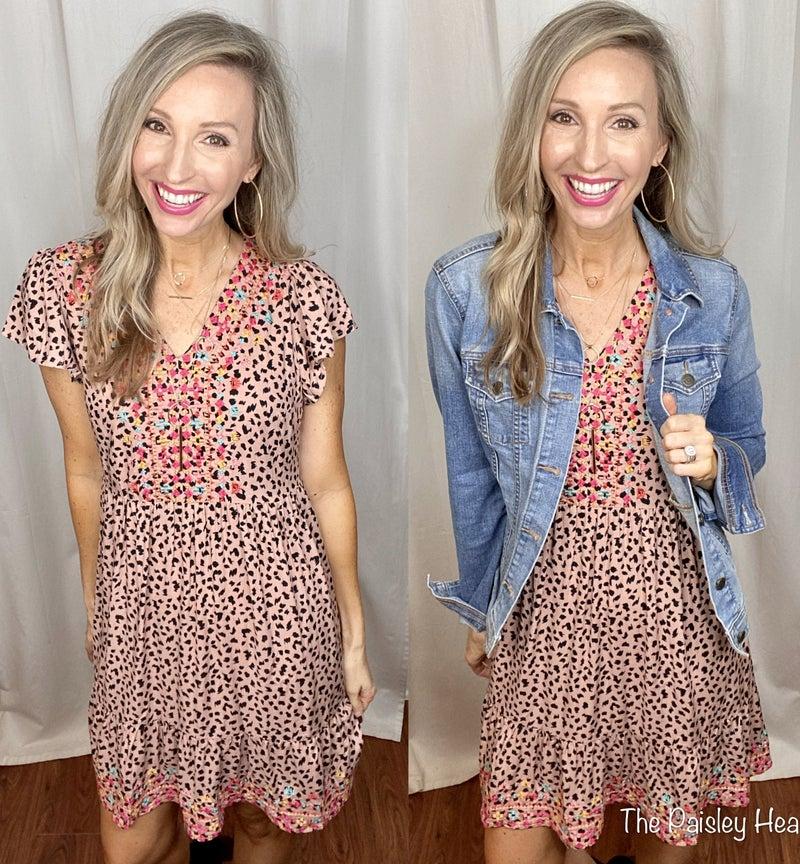 Lavish Leopard Dress