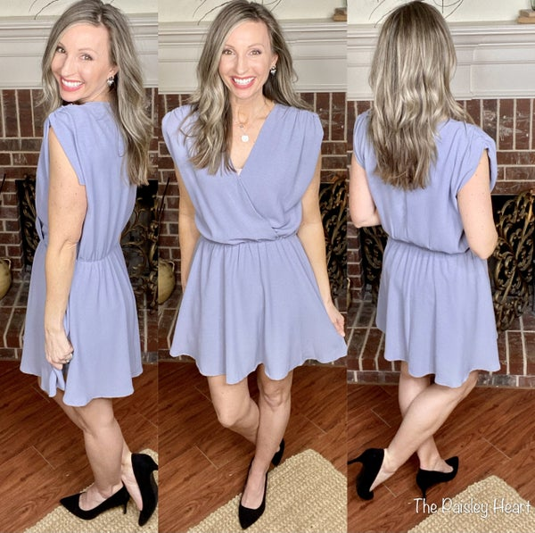 Lily Surplice Dress