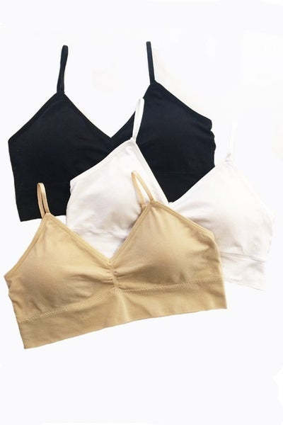 Seamless Bra - Racerback or straight strap Option