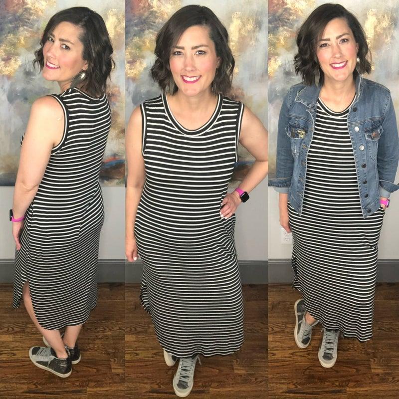 Know & Tell Midi Tank Dress