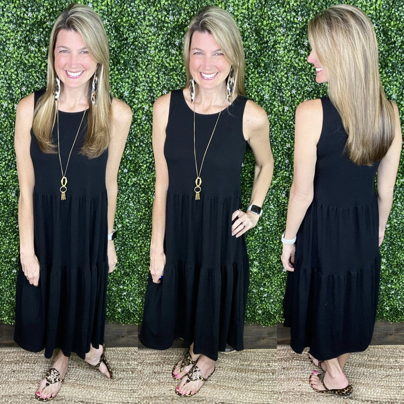 Sun & Smiles Midi Dress