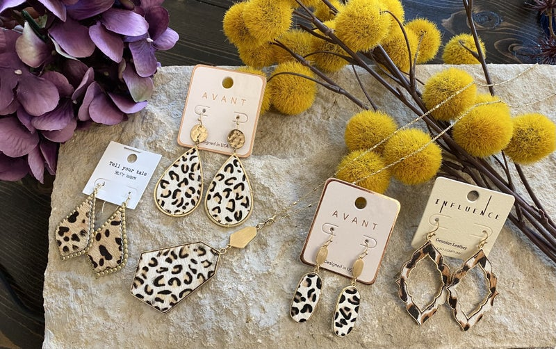 Furr-ever Favorite Leopard Earrings
