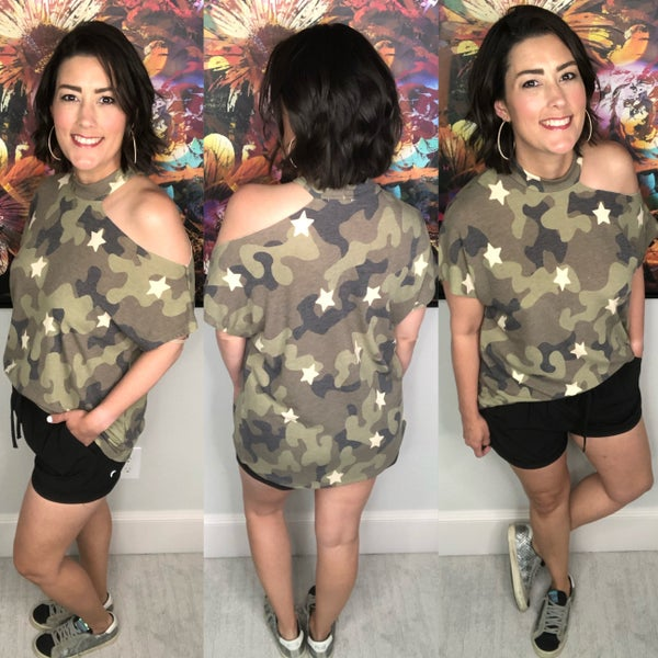 Raw Moments Camo Top