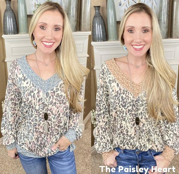 Paisley & Leopard Tunic