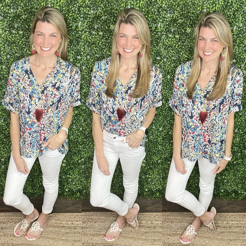 Floral Refresh Top