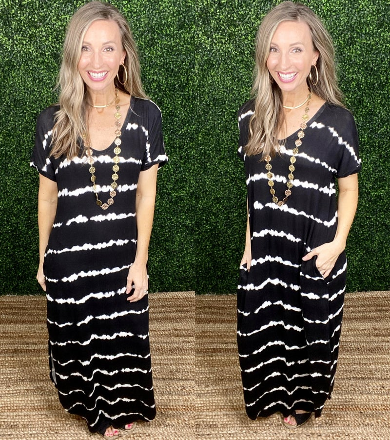 Insiders Only Maxi Dress