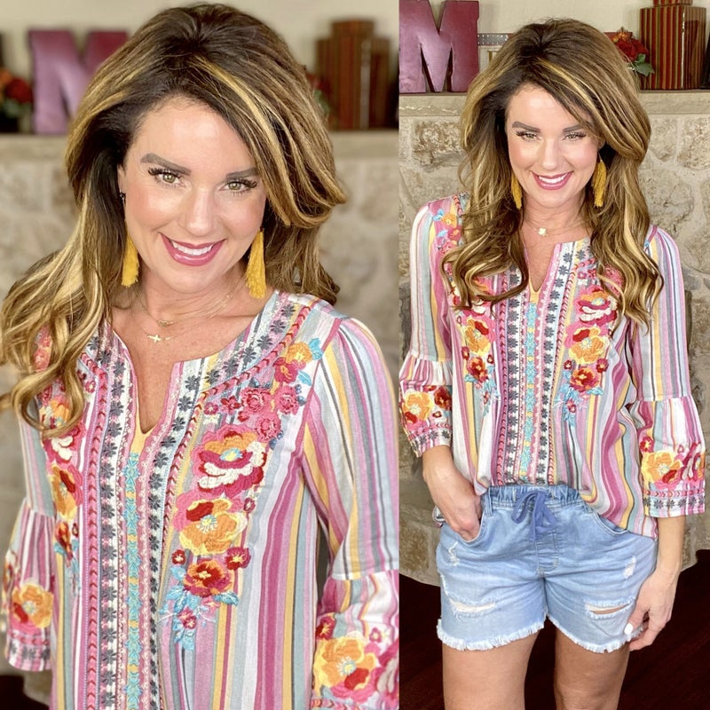 Lovely Floral Tunic