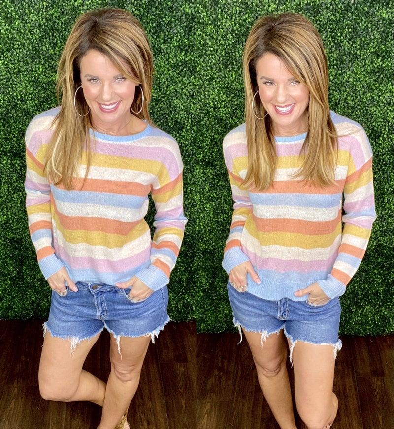 Cali Striped Sweater