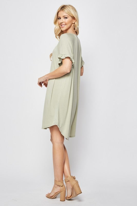 Rory Ruffles Dress