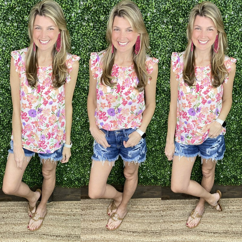 Blooms & Bliss Top