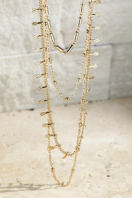 Meant To Be Layered Necklace