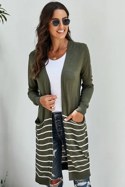Daily Dose of Comfort Open Front Cardigan