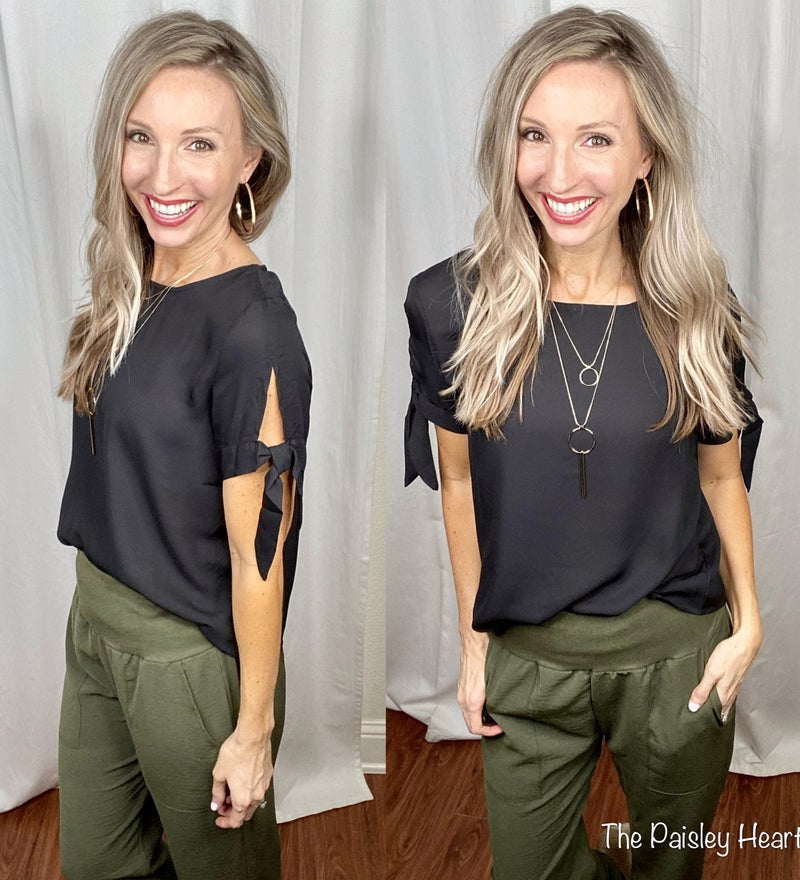 Sealed With A Bow Blouse