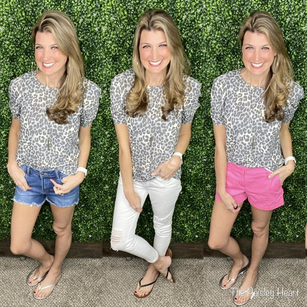 Charlie Cheetah Top
