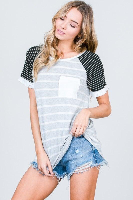 Striped Delight Top